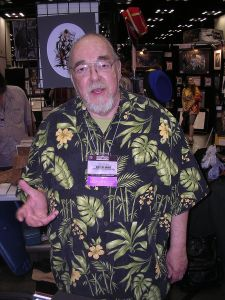 Gary Gygax at Gen­Con 2007. Gygax died in 2008 after mak­ing count­less addi­tions to gam­ing his­tory. Photo/Wikimedia, Alan De Smet