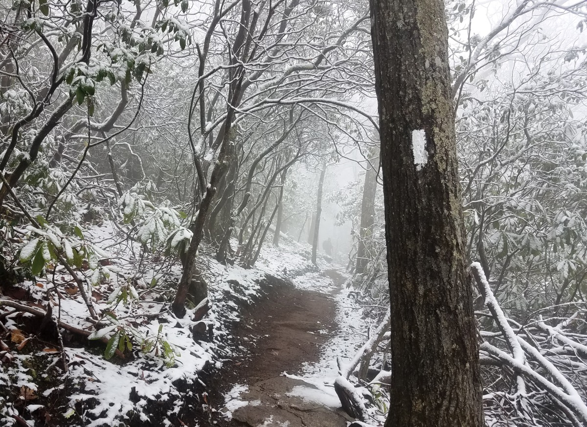 470 Miles on the Appalachian Trail: Freezing and fine dining
