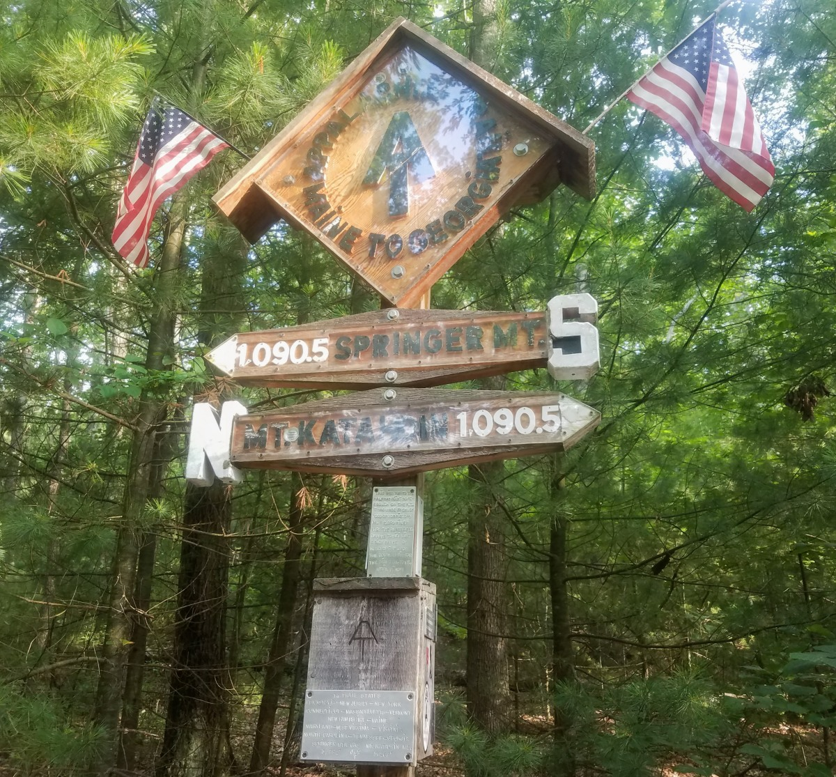 1,147 miles on the Appalachian Trail: Halfwaythere
