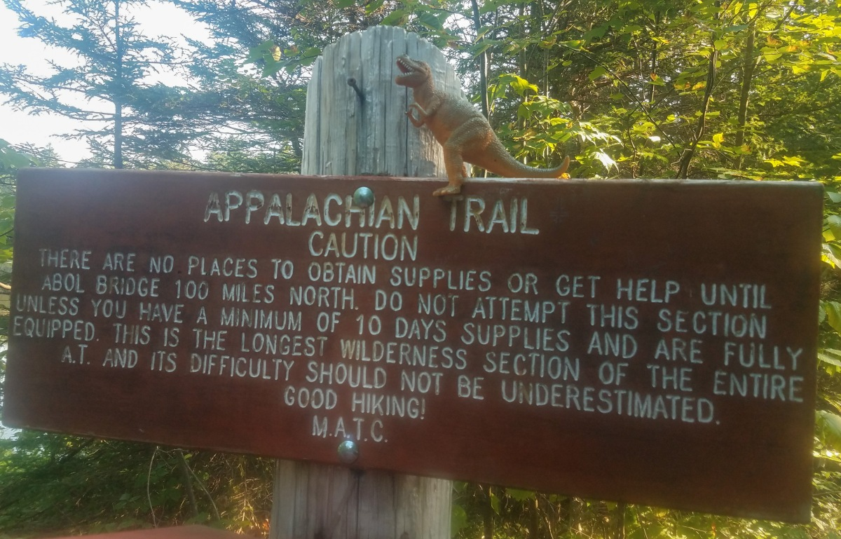 2,184.6 miles on the Appalachian Trail: The Hundred MileWilderness